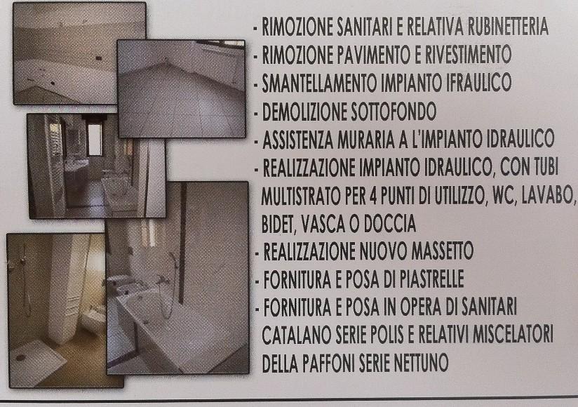 Offerta ristrutturazione bagno roma 3. offerta rifacimento bagno